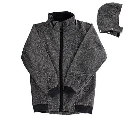 MINYMO Kinder Jungen Softshell-Jacke, Alter: ab 8 Jahren, Größe: 128, Farbe: Grau (Deep Stone Grey), 160310