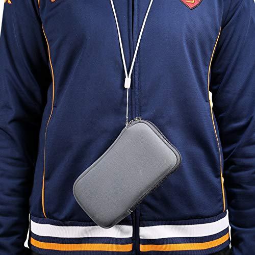 Funda del teléfono celular Manga de teléfono de neopreno, bolsa de manga móvil de la bolsa de la bolsa de celda universal de 5,4 pulgadas con cremallera for iPhone 12 mini, SE 2020,11 PRO, XS, X, 8,6,