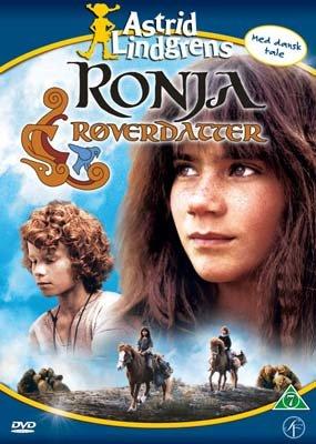 DVD Astrid Lindgren - Ronja Räubertochter auf DÄNISCH/DANISH