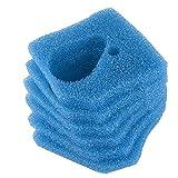 Sin marca Esponja de prefiltrado Gruesa de Color Azul de reemplazo para Eheim Professional Pro 3 250, 250T, 350, 350T, 600/ Ultra G Pro 3 Filter 2071,2073,2075 y Eheim Pro 3e 350/2074 (6 Piezas)
