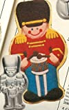 Wilton Toy Soldier Nutcracker Drummer Boy Holiday Christmas Cake Pan (502-5161, 1979) Retired