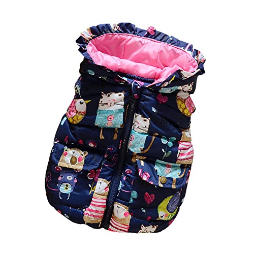 Patgoal Patgoal Baby Mädchen Weste Kunstfell Winter Ohne Arm Gilet Bodywarmer mit Kapuze Kurz(1-6 Jahre)