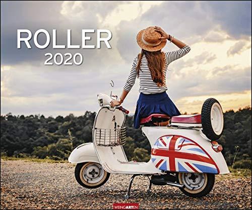 Roller. Wandkalender 2020. Monatskalendarium. Spiralbindung. Format 55 x 46 cm