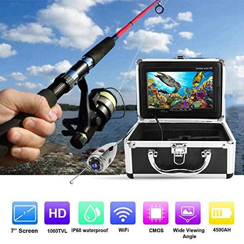 HOODIE Video Camera Systeem Pijp Inspectie Video Camera Draagbare Onderwater Waterdichte Vis Finder 1080P Full HD IPS LCD-scherm voor Ice Lake En Boot Vissen