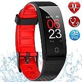 AMOYEE Fitness Armband mit Pulsmesser