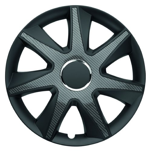ALBRECHT automotive 49716 Radzierblende RUN Carbon Dark 16 Zoll, 1 Satz