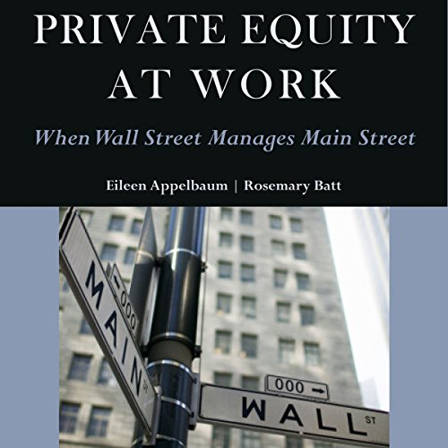Private Equity at Work audiobook cover art