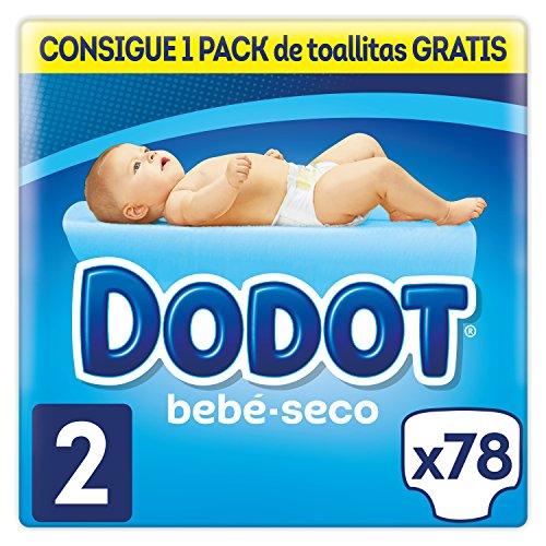 Dodot Bebé-Seco Pañales Talla 2, 78 Pañales, el unico Pa