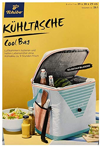 TCM Tchibo XXL Kühltasche für unterwegs Picknick Tasche Ausflug faltbar