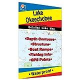Okeechobee Fishing Map, Lake