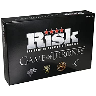USAopoly Risk Game of Thrones Strategy Board Game | The perfect gift for Game of Thrones Fans | Official Game of Thrones Merchandise | Based on the TV Show on HBO Game of Thrones | Themed Risk Game