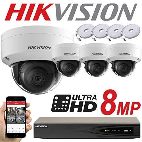 4K HDMI DS-7604NI-K1//4P Hikvision 4CH NVR 1TB PURPLE 8MP W//4CH POE H.265