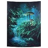 Alfombra-3D Árbol Sytle Alfombra Colgante Art Toalla de Playa Tapiz de Alfombra para Picnic en Interiores y Exteriores(130 * 150cm)
