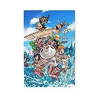 One Piece ワンピース 木製ジグソーパズル 子供パズル 大人の男性と女性のストレスを軽減します リラックスできて、知的好奇心を刺激する木製パズル(1000pcs)