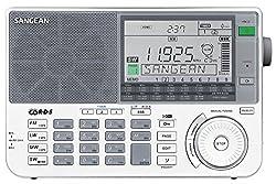 Sangean ATS-909X Weltempfänger, Tragbares digitales Radio UKW - Weiß