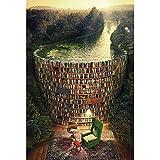 Tollk Lesse Puzzle De 1000 Piezas Para Adultos- Mar de libros, Rompecabezas De Piso Juego De Rompecabezas Y Juego Familiar (70x50cm),recomendado Para Adultos O Mayores De 14 Años