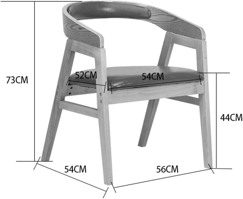 FENDOU Chaise de salle à manger simple, dossier créatif, chaise de loisirs, chaise de salle à manger pour adulte, mode (couleur : vert) Vert