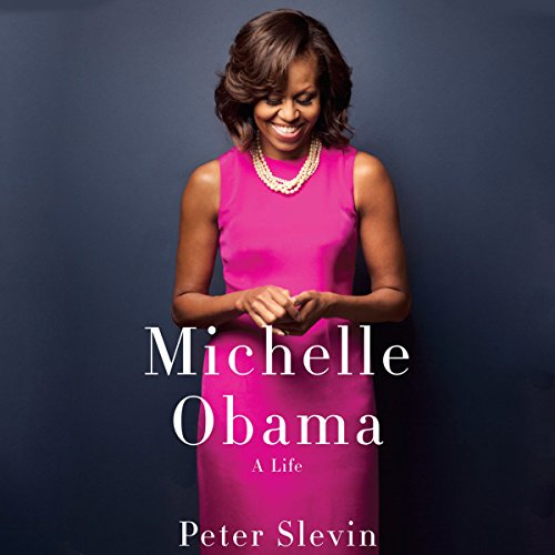 Michelle Obama audiobook cover art