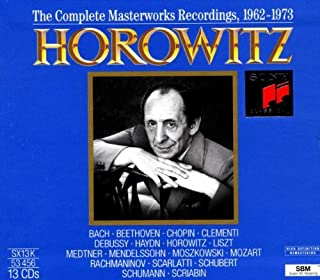 Horowitz: Mast.Wks 1962/73