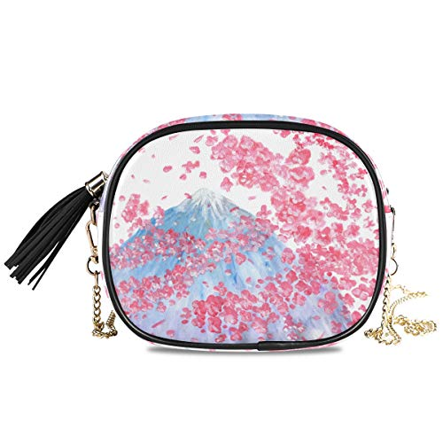 XiangHeFu portemonnee portemonnee Sakura bloempatroon Iceberg kaarthouder Phone Bag grote capaciteit