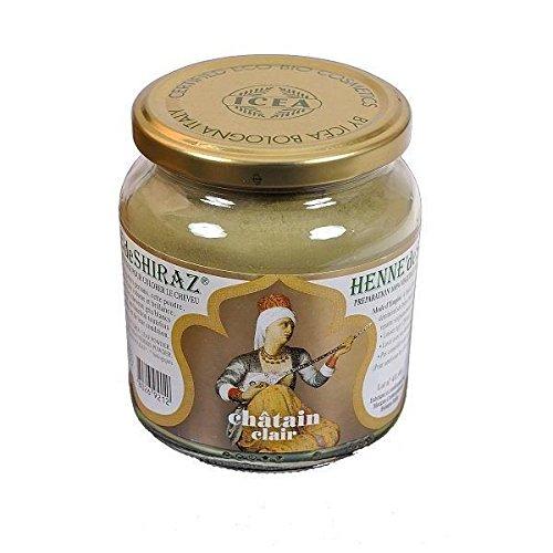 Beliflor - henné Châtain Clair de shiraz pot 150 g