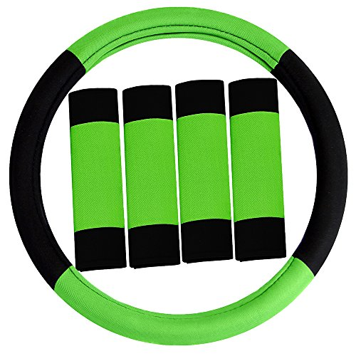 neon green seat covers - 8