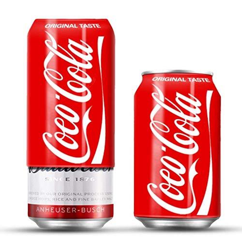 CONGCASE 330 ml / 355 ml / 375 ml de Soda Funda de Silicona de la Cerveza Puede Cubrir Bebida Puede Adaptarse for Eventos al Aire Libre for los Juegos de fútbol Juego de Baloncesto
