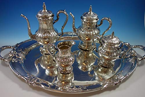 Best Price! Richelieu by International Tea Set 4pc with Tray (#1631) Fabulous!