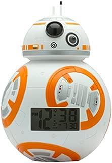 Star Wars スターウォーズ BB-8TM ライトアップ目覚まし時計 (並行輸入品)