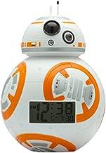 "Bulb Botz 2020503 Reloj Despertador para Niños, Star Wars Episode 7, BB-8, 7.5"" Tall, Color Blanco"