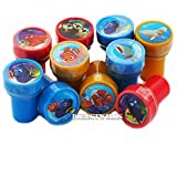 Finding Dory 10 Assorted Self Inking Stampers Party...