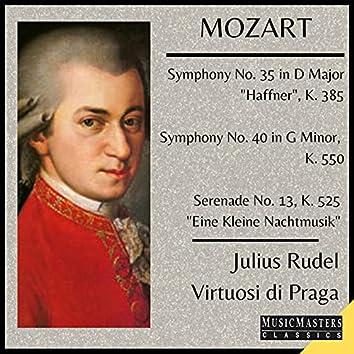 """Mozart: Symphony No. 35 """"Haffner""""; Symphony No. 40 in G Minor, Eine Kleine Nachtmusik"""
