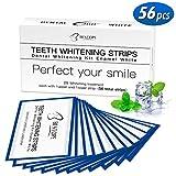 White Stripes 56pcs Zahnaufhellung Bleaching strips Set für Weiße Zähne mit No Slip Technology...
