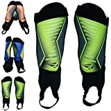 Rawxy Football Soccer Shin Guard with Ankle Protection Exceptional Flexible Soft Light Weight - for...