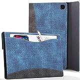 FC Funda para Samsung Galaxy Tab S6 Lite - Galaxy Tab S6 Lite 10.4 Funda para Documentos con S Pen Soporte - Azul Real -...