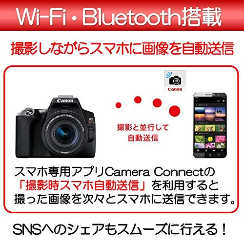 Canon『EOSKissX10EF-S18-55ISSTMレンズキット(3452C002)』