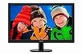 Philips 273V5LHSB/00 Monitor LCD con SmartContro Lite, 27 pollici, Display 16:9 Full HD, HDMI, VGA, Attacco VESA, Nero