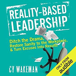 Reality Based Leadership audiobook cover art