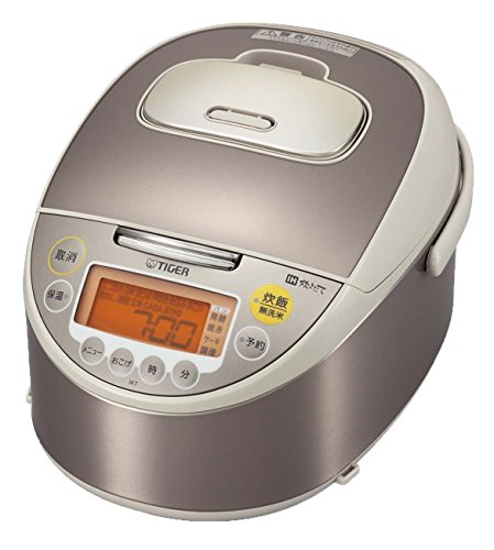 Amazing Deal TIGER IH rice cooker cooked (5.5 Go cook) JKT-W100-CC champagne beige