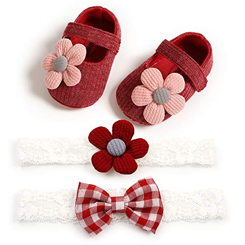 Carolilly Zapatos de verano para recién nacidos, niñas, con suelo suave, de...