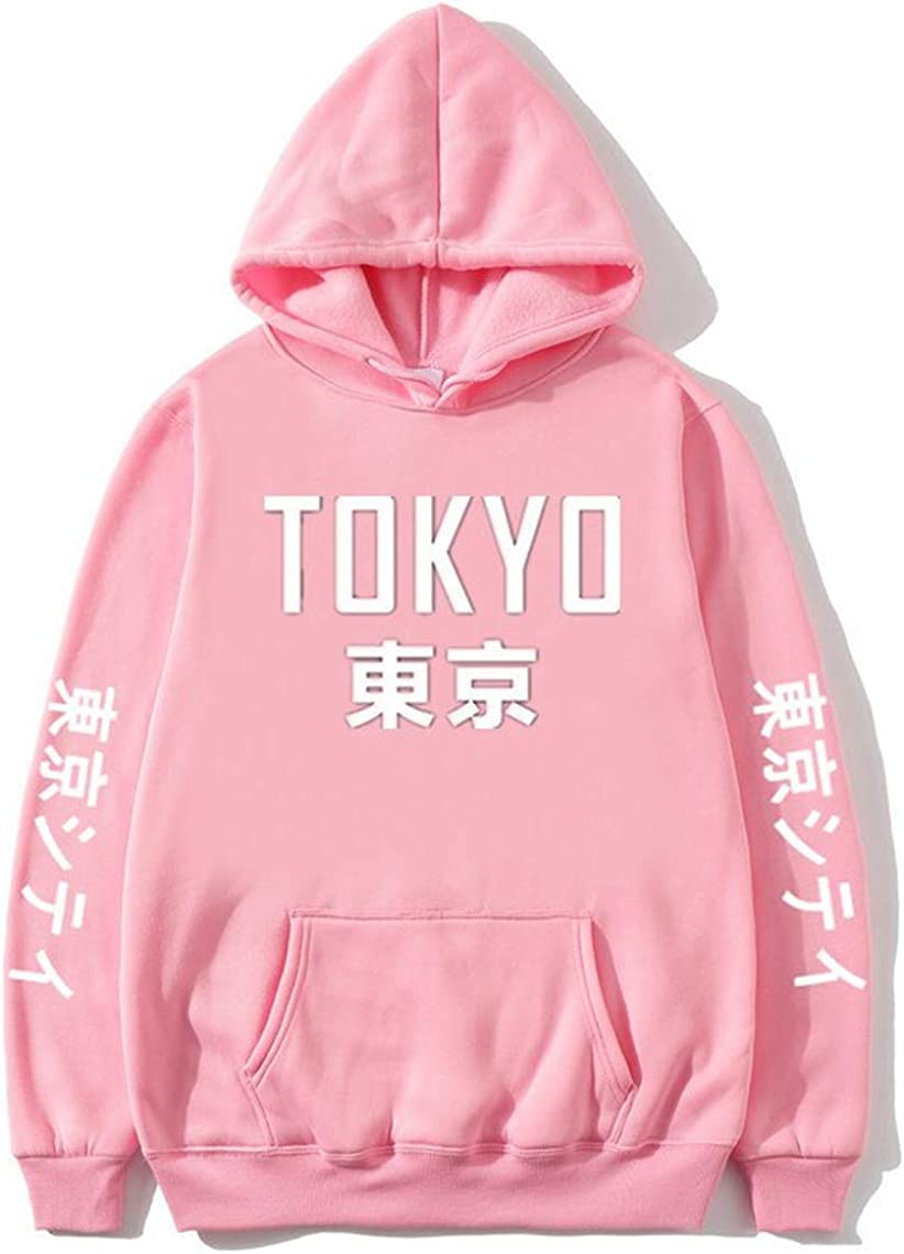 Bolany Tokyo City Japan Anime Manga Otaku Cartoon Kanji Lover Hoodies Sweatshirt