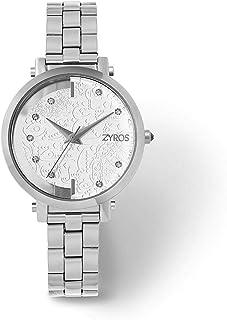 Zyros Dress Watch For Women Analog Stainless Steel - ZAA119L1