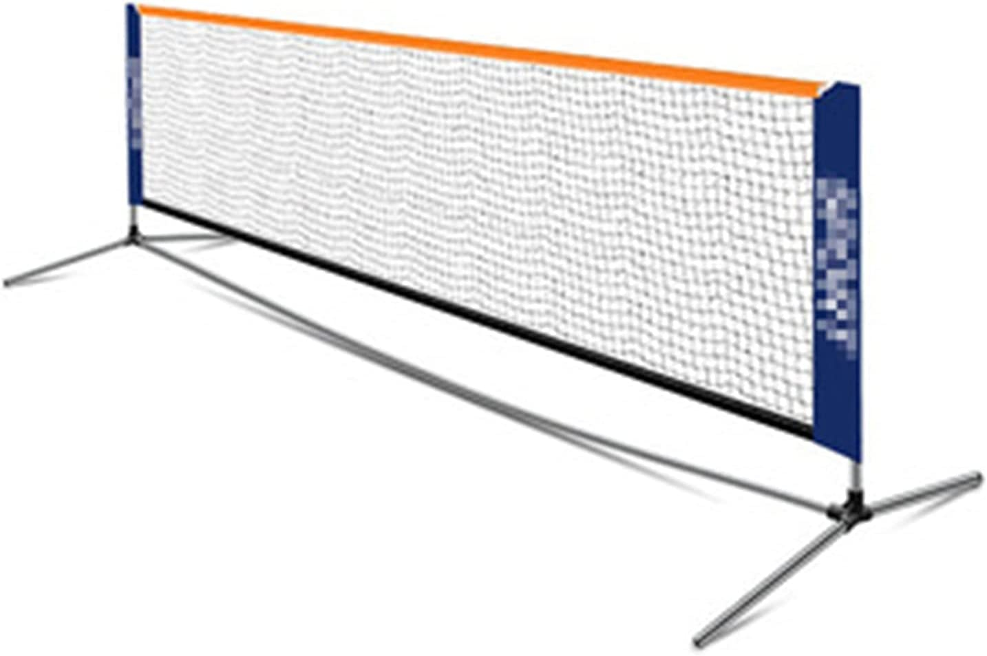 QERNTPEY Badminton Net Portable Badminton Net Set with Stand and