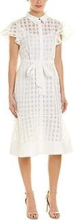 Julia Jordan Women's Short Sleeve Tie Waist Shirtdress