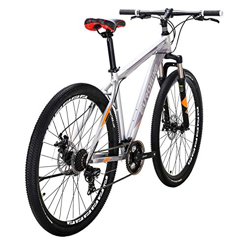 LZBIKE 自転車X9-29 マウンテンバイク 29インチ アルミ合金自転車 軽量 21速シフト3×7速 自転車 銀