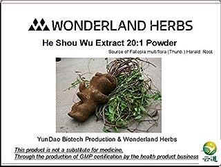 Prepared Fo-Ti He Shou Wu Extract 20:1 Powder, HIGH Quality Herbs Free Shipping 1KG, [ Fallopia/Polygonum multiflora Extra...