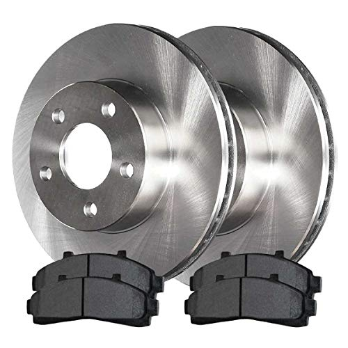 AutoShack RSCD64037-64037-652-2-4 Pair of 2 Front Driver and Passenger Side Disc...