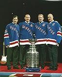 Hockey NY Rangers Legends: Mike Richter, Adam Graves, Brian Leetch & Mark...