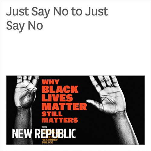 Just Say No to Just Say No audiobook cover art