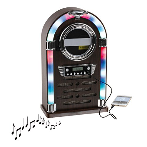 Clip Sonic Technology tes195Jukebox Bluetooth Madera